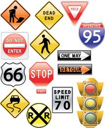 Tema de signos vectoriales
