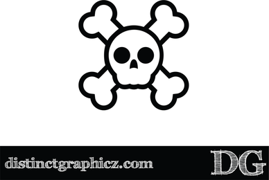 Jolly Rogers Skull Design