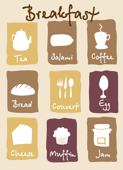 Breakfast Lovely Pictures Vector