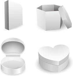 Vector de plantilla de caja de utilidad