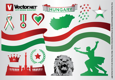 Budapest Hungary Vector Graphics