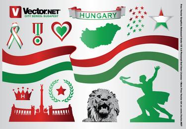 Budapest Hungría gráficos vectoriales