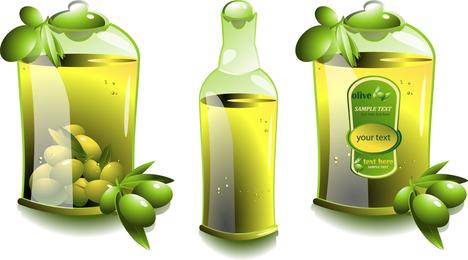 Vector de aceite de oliva
