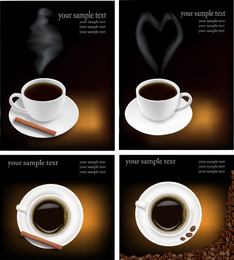 Vector de tema de cafe 4