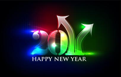 Feliz Ano Novo Lettering Lights