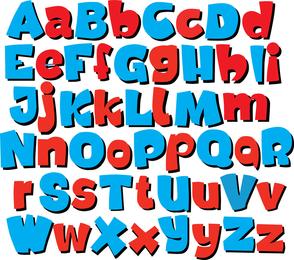 Font Design Series 56 Vector