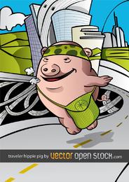 Schweinehippie auf der ganzen Welt 2