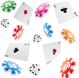 Leisure And Gaming Gambling Vector