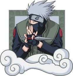 Naruto Characters Vector 4