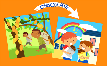 Crianças Ambiente Vector 11