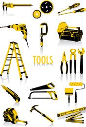 Vetor de ferramentas comuns