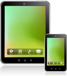 Ipad Tablet PC-Vektor