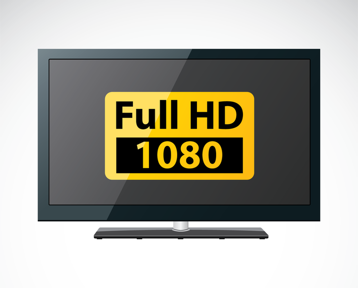 Vetor HDTV