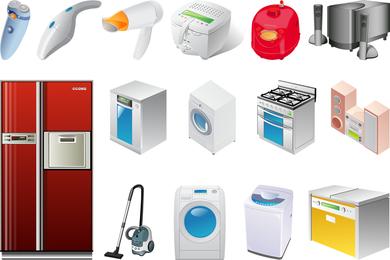 El vector de dos electrodomésticos