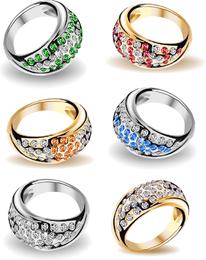 Precioso anillo de bodas 03 Vector