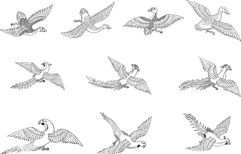 Classic Bird Vector