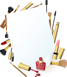 Daily Cosmetics 05 Vector