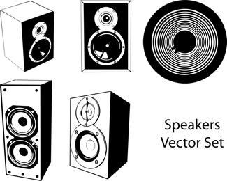 Speakers Vector Set