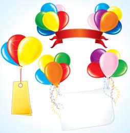 Vector Festive Balloon