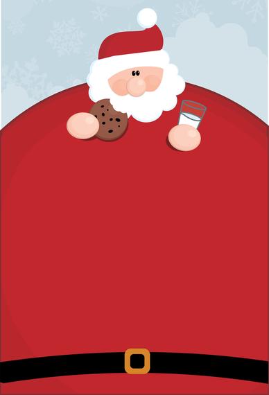 Vector Santa Claus Obesity - Vector download