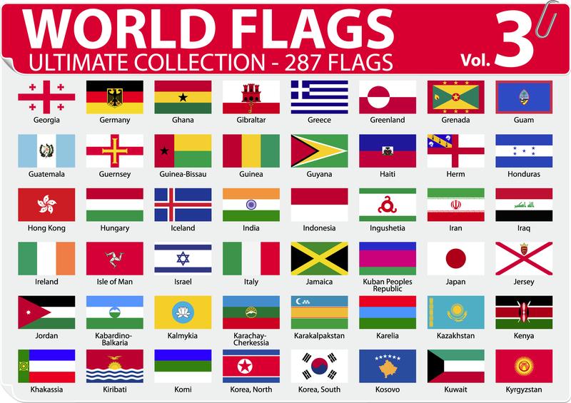 National Or Regional Flag And Regional Flag Vector 3