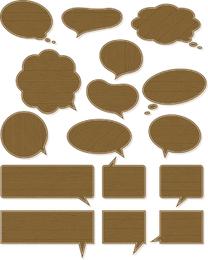 Simple Dialogue Bubbles Vector