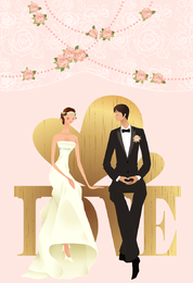 Wedding Vector Graphic 29