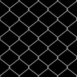 Zaun aus Metalldraht