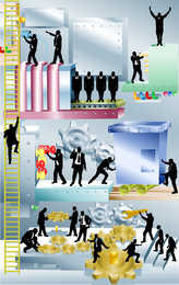 Business Illustration Vector