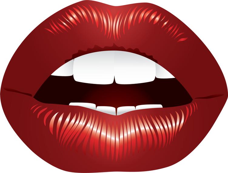 Lippen-Vektor