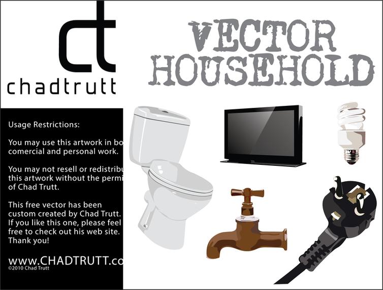 Download Vector Household Items Vectorpicker