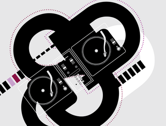 Dj Musical Elements design