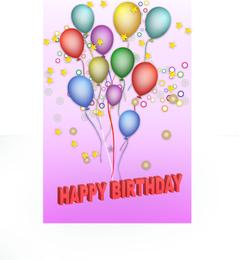 Vektor alles Gute zum Geburtstag