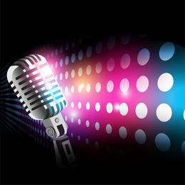 Microfone 03 Vector