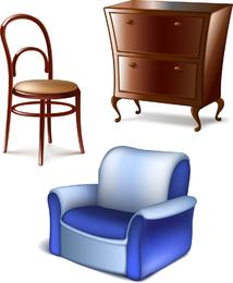 Furniture 01 Vector