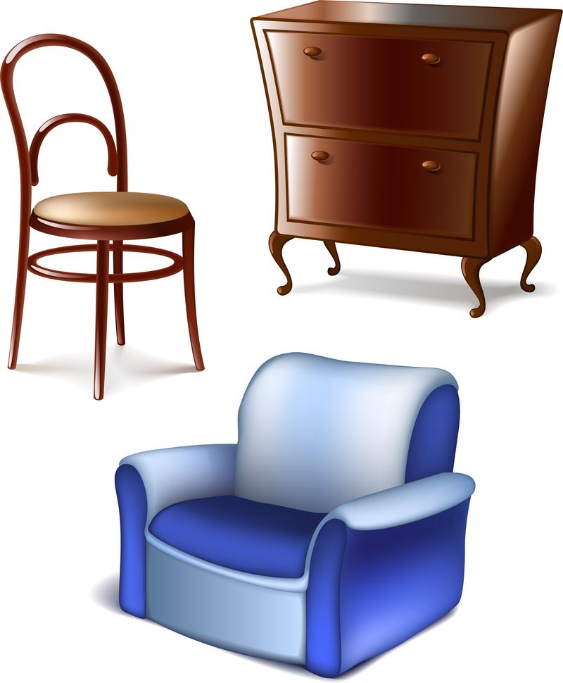 картинка мебель на белом фоне послеоперационном