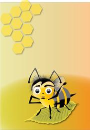Abelha-Bienen-Vektor