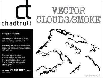 Vector nubes humo