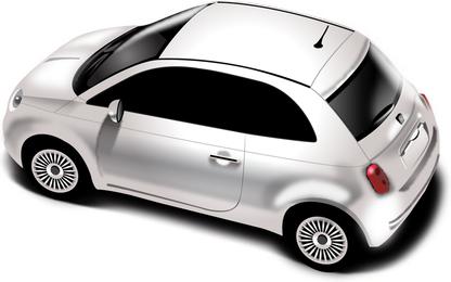 Nueva ilustración detallada del Fiat 500