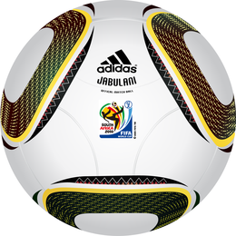 2010 Fifa World Cup South Africa Official Ball Jabulanif Vector