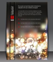 Design de capa de moda 03 Vector