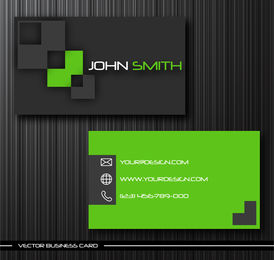 Gorgeous Simple Business Card Templates Vector