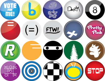 Button Vectors