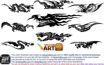 Tatuaje de dragones gratis