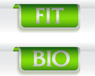 Green Indicates Threedimensional Label 02 Vector