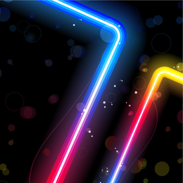 Lindo Neon Effects 02 Vector