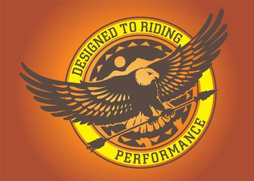 Gráficos de logotipo da águia