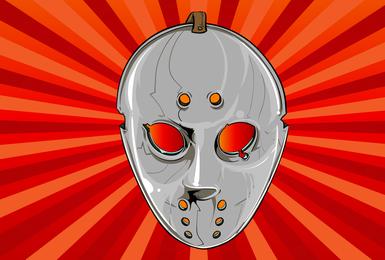 Hockey Máscara vectorial