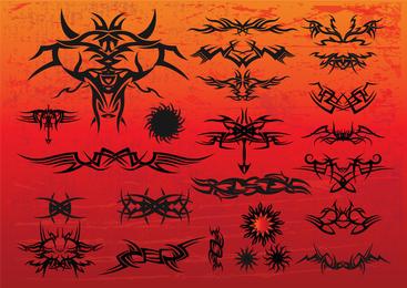 Free Tribal Tattoo Vectors