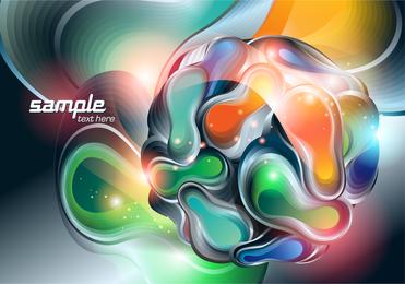 Threedimensional Vector 3 Symphony Ball